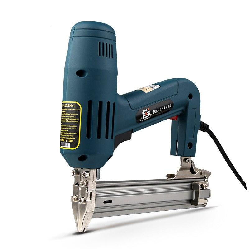 2000W 220 240V 35pcs min F30 Electric Nailer Gun Electric Straight Nail Gun Tool for Wood