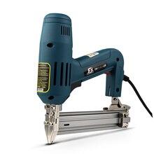 2000 Вт 220-240 в 35 шт/мин F30 Электрический гвоздезабиватель электрический прямой гвоздь пистолет инструмент для дерева