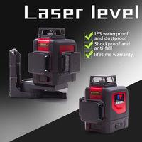 NEW LETER 3D laser level 360 level green lase line red laser