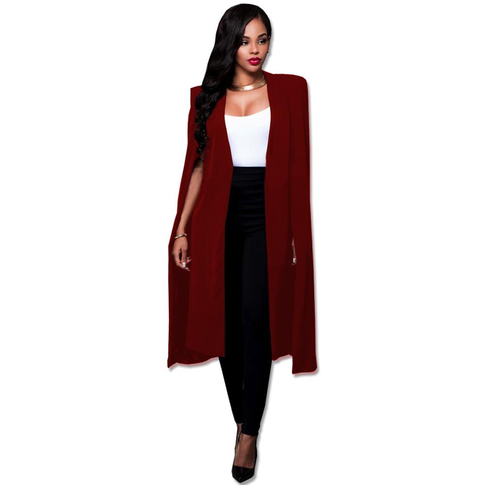 NEW Plue Size 4XL Long Coat Women Basic Coats Cardigan Loose Outwear Manteau Femme Trench Coat gabardina mujer trench 5 Colors