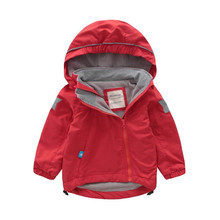Children's Winter Outdoor Windproof Waterproof Ski Clothing Padded Hooded Warm Coat Winter Cotton-padded Jacket
