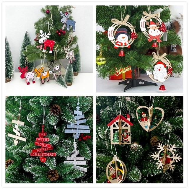 Madera natural 2018 decoraciones para el hogar adornos de for Decoraciones de navidad para el hogar