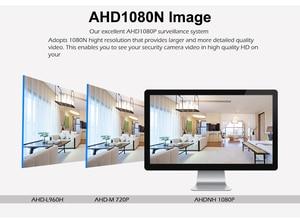 Image 4 - 2018 najnowszy Mini 4CH CCTV DVR NVR AHD 1080N 5 w 1 hybrydowy XVR dla AHD analogowy IP TVI CVI uchwyt na aparat eSATA/TF/USB zapisz kopię zapasową