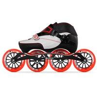 100% Original Bont Enduro 3PT Speed Inline Skates Heatmoldable Carbon Fiber Boot S frame7 G16 100/110mm Wheels Skating Patines