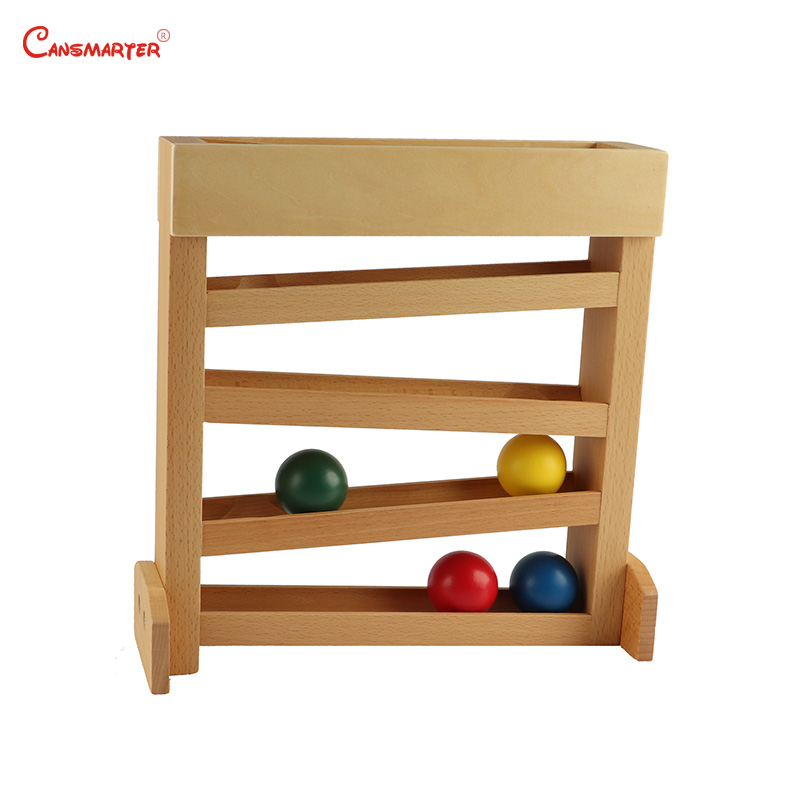 Educational Montessori Sensorial Games The Tracker Preschool Toys kids Learning Training Aids Friendly Safe Wooden Toys LT051-30