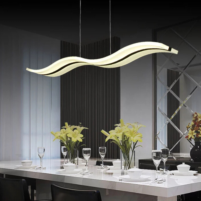 New 97cm Led Pendant Light Dining Room Bar Shop Modern Led