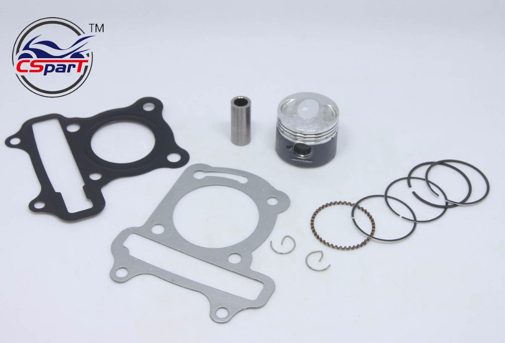 39MM Cylinder Piston Ring Gasket Kit GY6 50CC Jonway Jmstar Yiying ...