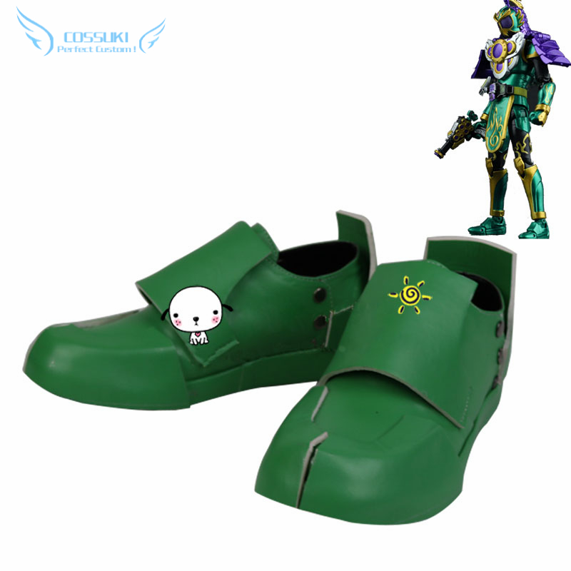 1df3fe19d10a Masked Rider Kamen Rider Ryugen Yomi Cosplay Shoes Boots Professional  Handmade ! Perfect Custom for You !
