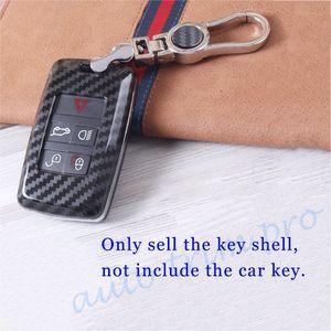 Чехол для ключей из углеродного волокна, чехол-держатель для сумки, подходит для Range Rover Sport Discovery Sport Discovery4 2018, аксессуары, отделка