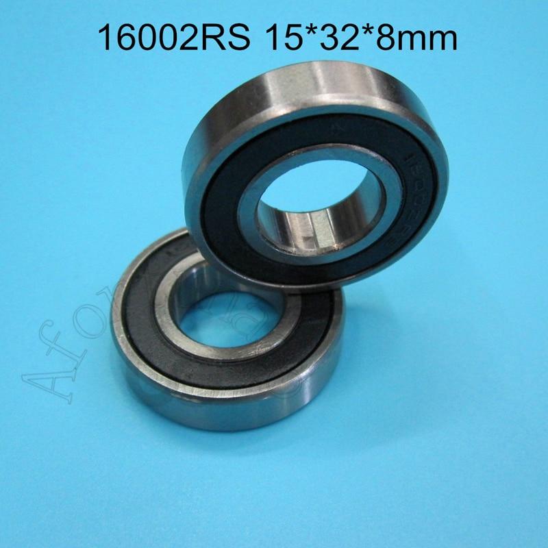 16002RS 15*32*8(mm) 1Piece Bearing ABEC-5 16002 16002RS Rubber Sealing Sealing Type Chrome Steel Bearing