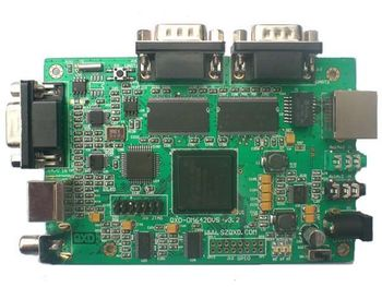 QXD-DM642DVS development board TMS320DM642 RS485 RS422 gives 2DVD