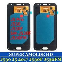 OEM OLED ЖК-дисплей для Samsung Galaxy J5 2017 SM-J530F J530M J5 Pro J530 ЖК-дисплей Дисплей Экран дисплея с сенсорным экраном дигитайзер в сборе черный