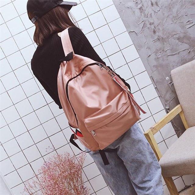 ca04e7f76f22 Fashion Backpack Women Unisex Waterproof Anti Water Backpack Double  Shoulder Bag Zipper Bag Backpacks for School Teenage Girls