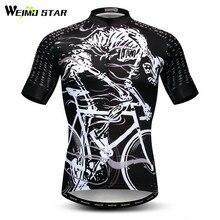 Weimostar, Череп, для езды на велосипеде, Джерси, мужские, для горного велосипеда, Джерси, mtb, одежда для велосипеда, Майо, Ciclismo, летняя, анти-пот, велосипедная рубашка
