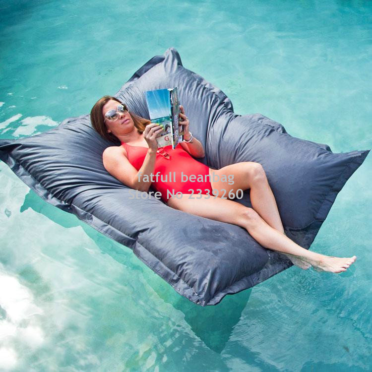 Cover Only No Filler Water Floating Bean Bag Chair