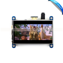 Promo offer Raspberry Pi 3 Model B 4 inch HDMI LCD Resistive Touch Screen HDMI LCD IPS Screen High Resolution 800*480 Designed