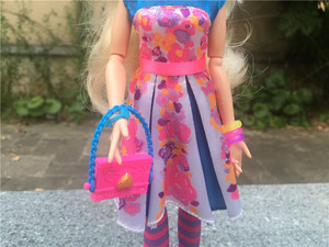 "Image 3 - Disney Descendants Neon Lights Ball 11"" Ally Auradon Prep Toy Doll Action Figure New No Package"