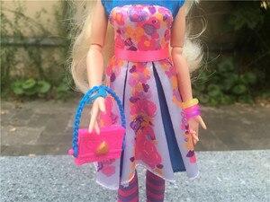 """Image 3 - Disney Nachkommen Neon Leuchten Ball 11 """"Verbündeten Auradon Prep Spielzeug Puppe Action Figure Neue Kein Paket"""