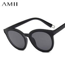 d5c44dd295 AMII Sunglasses women Accessories CatEye Style 2018 Brand Designer Cat s eye  UV400