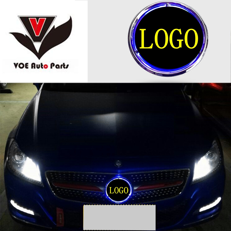W176 W246 W205 W212 W117 Illuminated Star Car Front Grill Grille LED Light Logo Badge for Mercedes-Benz A B C E CLA GLA Class pp class front car mesh grill sport style fit for benz w203 c 2000 2006