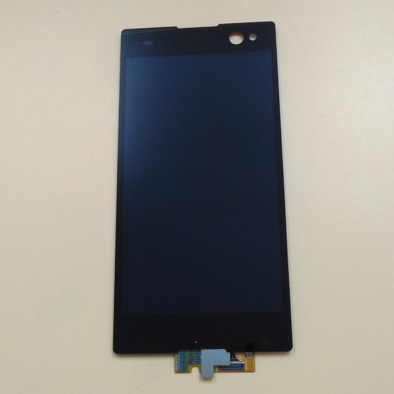 For Sony Xperia C3 D2533 D2502 Touch Screen Panel Digitizer Sensor Glass + LCD Display Monitor Panel Module Assembly