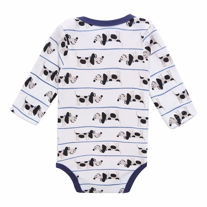 Mother Nest 3 PcsLot Baby Romper Infant Romper Long Sleeve Jumpsuit Romper 12 Colors Brand Baby Girl Boy Clothing Christmas (1)