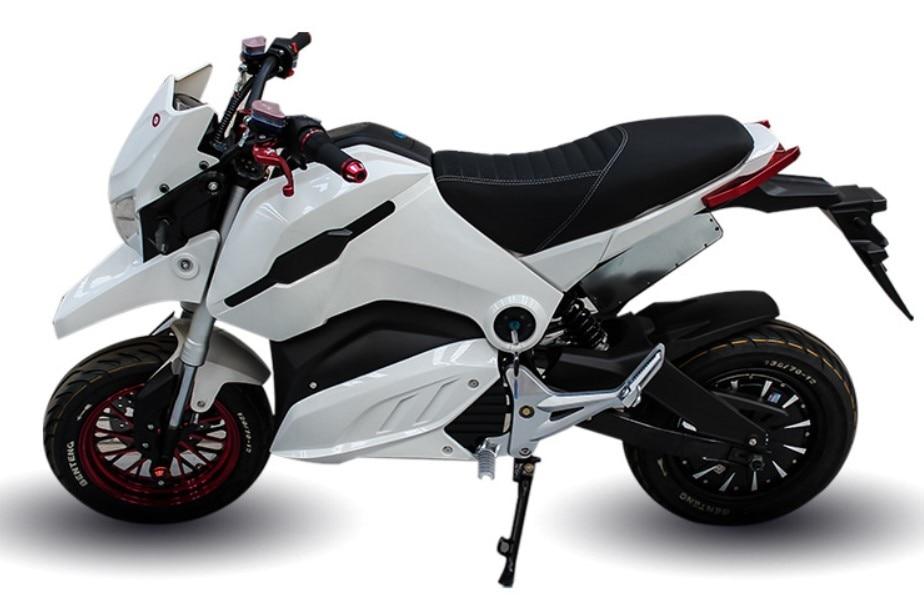 Électrique Citycoco scooter 72 v 20AH 1500 w/2000 w Électrique Moto Moto Electrica Double Disque De Frein