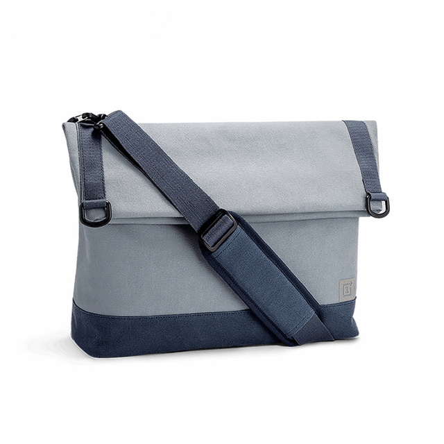 Original Oneplus Travel Shoulder Bag Leisure Messenger Bag Diagonal Package  Applies To 13 inch Laptop Stylish Office Worker dc704fc57afc4