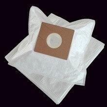 Cleanfairy 15 pçs sacos de aspirador de pó compatível com lg dbv 2620e 4440 tb4 v2600e v4400 cartão 110x100mm