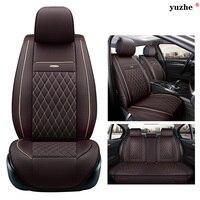 Yuzhe Leather Car Seat Cover For Opel Astra H J Gmokka Insignia Mokka Corsa Ampera Car