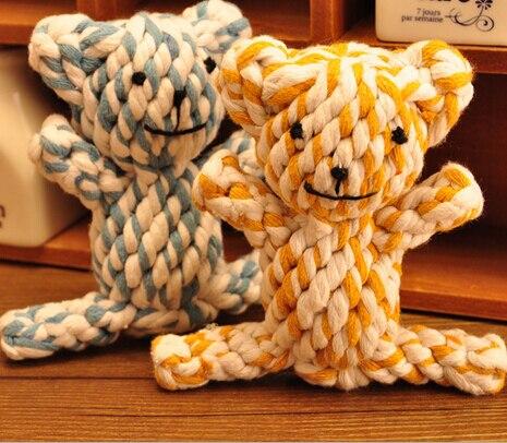 Pet игрушка собака игрушки животных хлопок веревки игрушки один