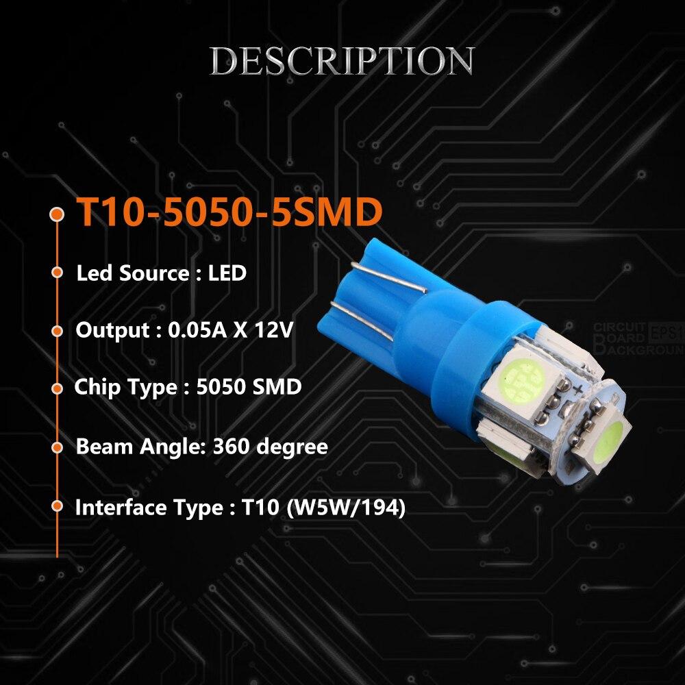 W5W LED Sidra 100