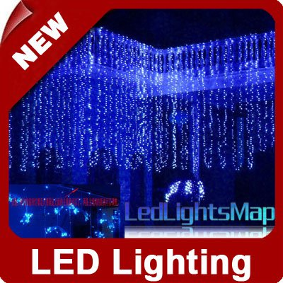 103 m led holiday decorative lighting background decorative christmas lights ledlightsmap - Decorative Lighting