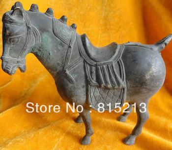 wang 000121 Bronze Horse Old running antique Chinese Exquisite