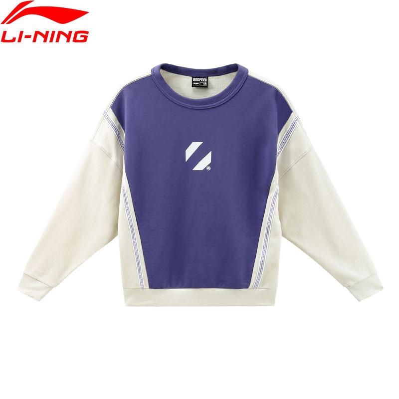 Li Ning Women Basketball Series BAD FIVE Jersey 76 5 Cotton 23 5 Polyester Loose LiNing
