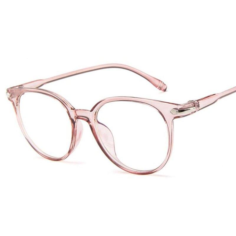 Fashion Transparent Jelly Colors Glasses Frame Retro Frames For Women High Quality Female Eyeglasses