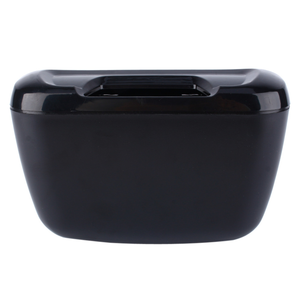 auto car vehicle container black environment easy hanging cargo trash can mini garbage bin. Black Bedroom Furniture Sets. Home Design Ideas