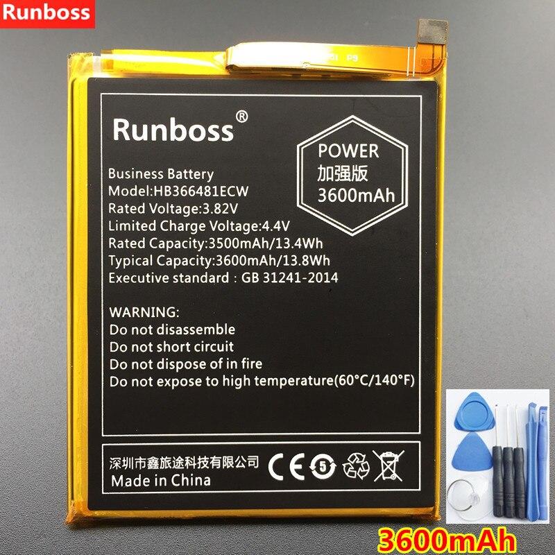 New 3600 mAh Bateria Para Huawei HB366481ECW P Inteligente 5.6