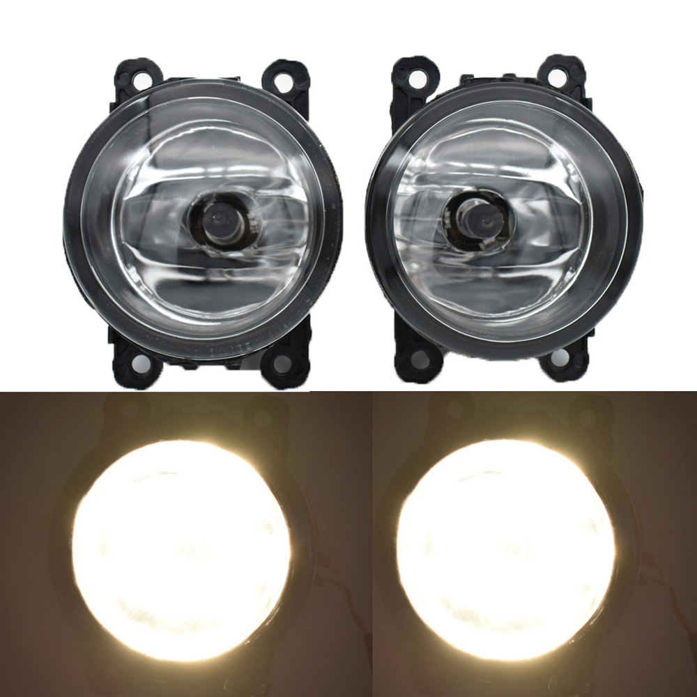 2pcs/lot Car-Styling For Mitsubishi ASX 2013 2014 9-Pieces Led Fog Lights H11 H8 12V 55W Halogen Fog Head Lamp