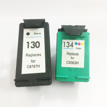 For HP 130 134 Ink Cartridge HP130 Deskjet 6543 5743 6623 6843 6523 9803 5943 6943 6983 7313 7413 2713 8153