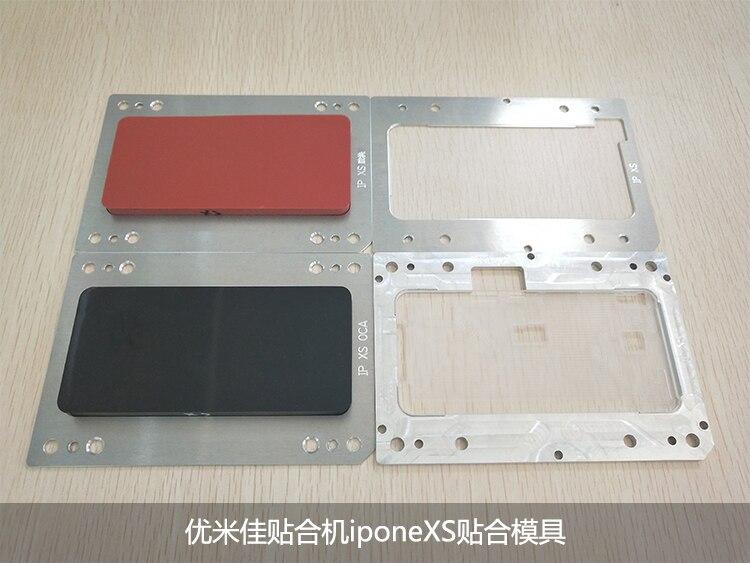 Pour iPhone X/XS/XS MAX/XR YMJ LCD OCA Laminage de Verre Moule