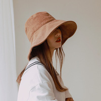 Sombreros de cubo con cuerda para mujer, sombreros de sol con cuerda, plegables, para exteriores, Panamá, caqui, informales, de pescador, 2020