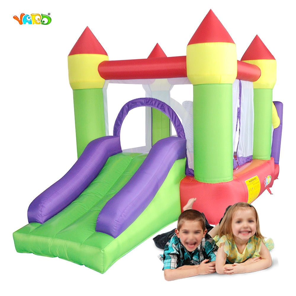 Home Use Jumping Castle Inflatable Slide Bouncy Castle Juegos Game Inflatbel Bouncer Children Party Game Free Shipping To Europe jumping inflatable castle bouncy castle jumper bouncer castle inflatable bouncer with slide