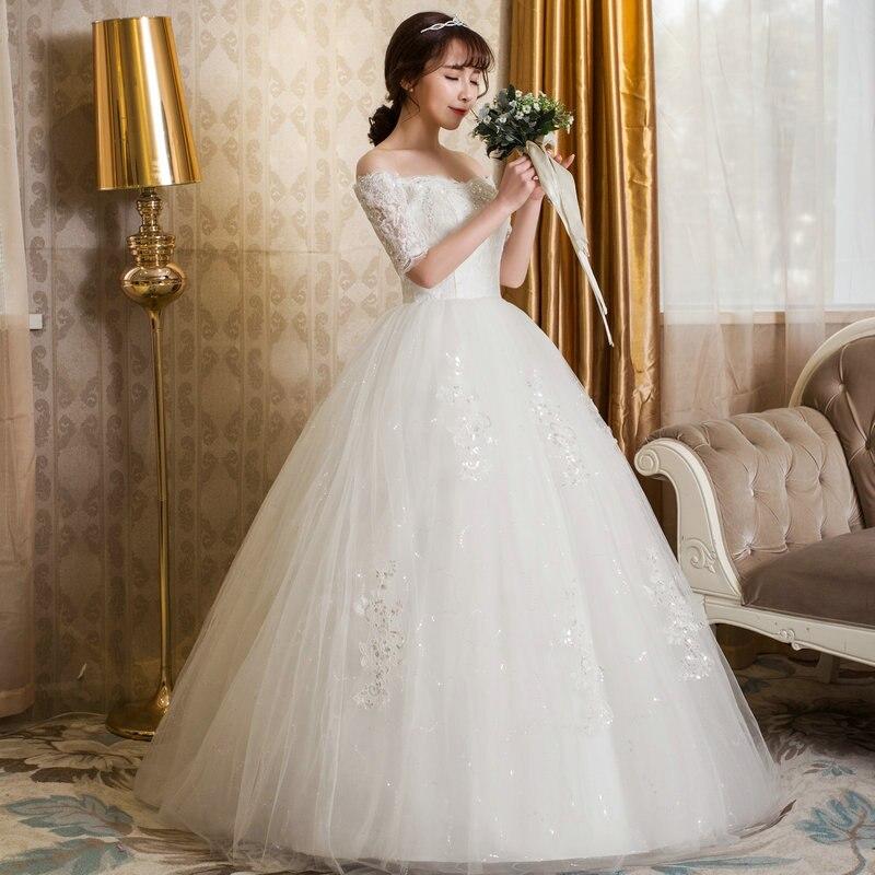 Aliexpress Buy Lamya Vintage Ball Gown Wedding Dress With