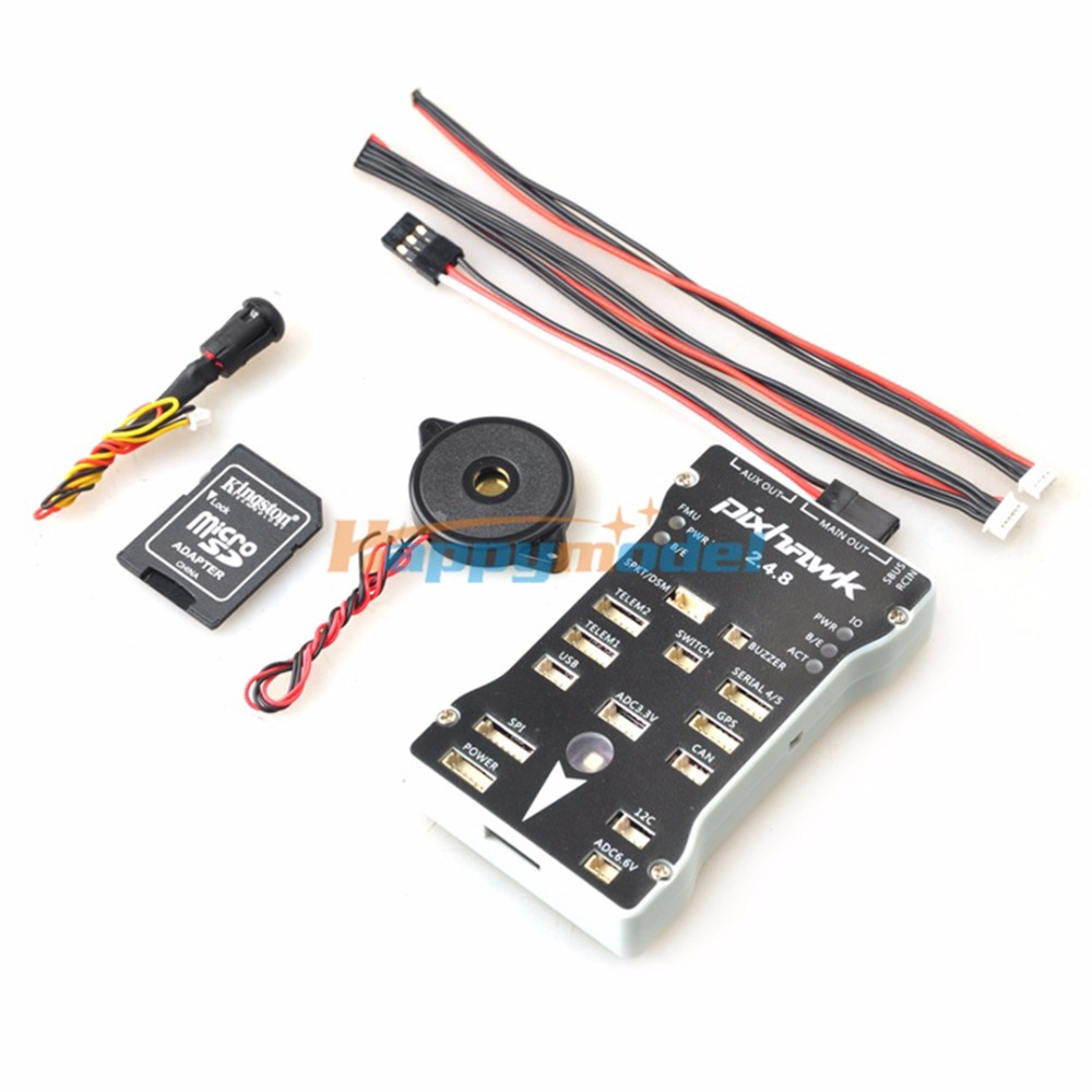 все цены на 1 Set Pixhawk 2.4.8 PX4 Autopilot PIX 32Bit Flight Controller with Safety Switch and Buzzer for RC Airplane Multicopter