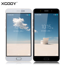 XGODY Y16 4G Smartphone 6 inch Android 6.0 MTK MT6737 Quad Core 1+8GB 6.0 Inch 13.0MP 1280*720 IPS Mobile Phone Dual Sim Cards
