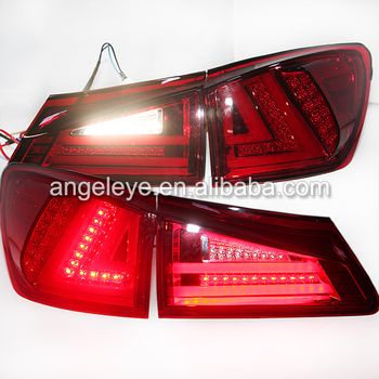 2006-2009 year For Lexus for IS250 LED Tail light  Red White JY