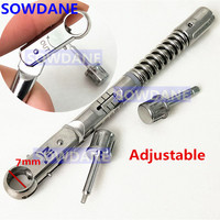 Dental Implant Torque Ratchet Wrench Tool TOP GERMAN QUALITY,7 MM , 10 40 NCM Top Quality Certificated Brand Bio Effect