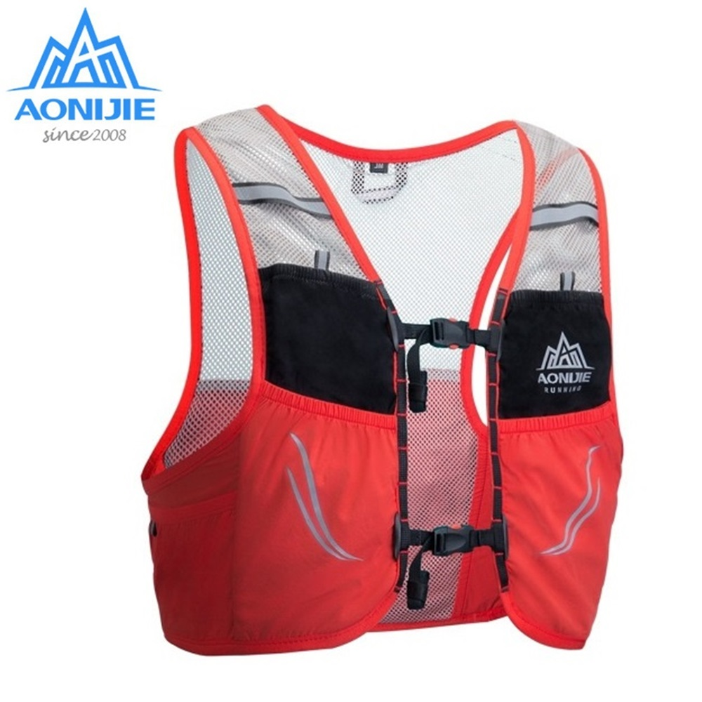 AONIJIE C932 2.5L Trail Running Vest Backpack Lightweight Breathable Cycling Marathon Bag Ultralight Sport Bag 500ml Soft Flask
