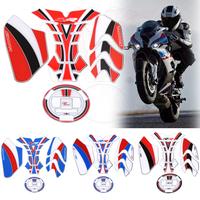 For BMW S1000RR S1000 RR 3D Tank Pad Stickers Decal Oil Cover Sticker quality 3D Epoxy resin Sticker